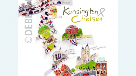 Brochure front cover for the Royal borough - Kensington and Chelsea
