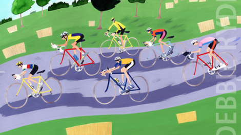The Almanac Gallery - Sporting Life - Cycle Race